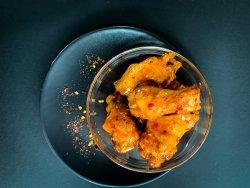 8 x Sweet Chili Wings + Potato Wedges image