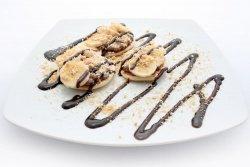 Pancake nutella, banane