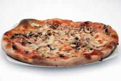 Pizza Prosciutto e funghi Baby