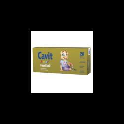 Cavit Junior vanilie, 20 tablete, Biofarm