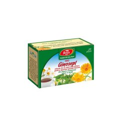 Ceai Ginosept, G83, 20 plicuri, Fares