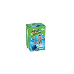 Chiloței impermeabili pentru înot Little Swimmers, Nr. 3-4, 12 bucăți, 7-15 Kg, Huggies