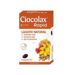 Ciocolax Rapid, 10 capsule, Solacium Pharma