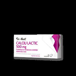 Dr.Hart Calciu lactic 500mg  20cpr