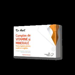 Dr.Hart Complex vitamine si minerale pentru par, piele si unghii 30cpr filmate