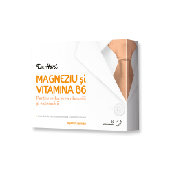 Dr.Hart Magneziu si vitamina B6 30cpr