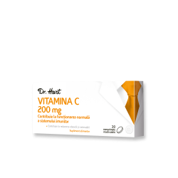 Dr.Hart Vitamina C 200mg 20cpr masticabile