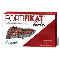 Fortifikat Forte 825 mg, 30 capsule, Terapia
