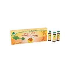 Ginkgo Biloba și Ginseng Extractum, 10 fiole, Yongkang International