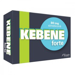 Kebene Forte Simeticona 80mg, 25 capsule, Terapia