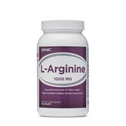 L-Arginina 1000 mg (164212), 90 tablete, GNC image