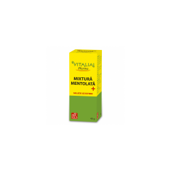 Mixtură mentolată+, 40 g, Vitalia