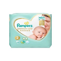 Pampers premium Care nr 2, 4-8 kg, 23 buc, Pampers