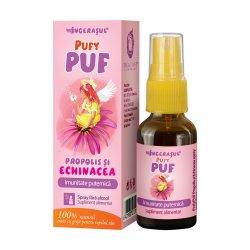 PufyPUF propolis și echinacea spray, 20 ml, Dacia Plant