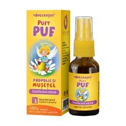 PufyPUF propolis și mușețel spray, 20 ml, Dacia Plant