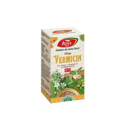 Sirop Vermicin cu miere și propolis, D73, 100 ml, Fares