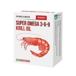 Super Omega 3-6-9, 30 capsule, Parapharm