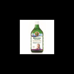 Ulei din ficat de cod Pure Mom & Baby, 250 ml, Moller`s