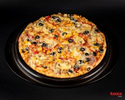 1+1 Pizza Țărănească de Pui Medie image