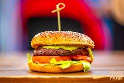 Burger Big Daddy Jimi + Crispy Fries image