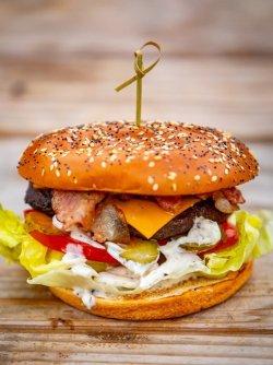 Pachet Family 1+1: Burger Freddie & Crispy Fries  image