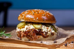 Pachet Family 1+1: Burger Smokey Jack & Crispy Fries image