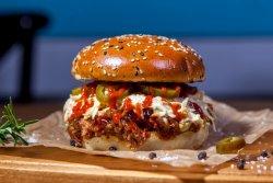 Pachet Family 1+1: Burger Spicy Joe & Crispy Fries  image