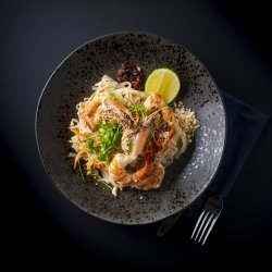 Pad Thai cu Creveți Black Tiger