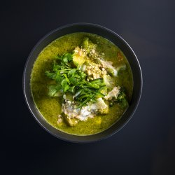Thai Coconut Green Curry Tofu  image