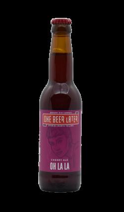 One Beer Later - Oh La La (Cherry Ale)