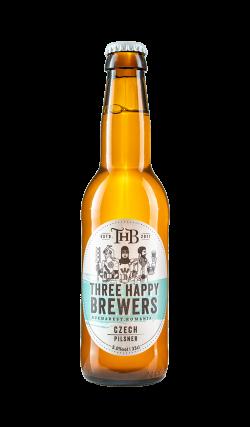 Three Happy Brewers - Czech Pilsner