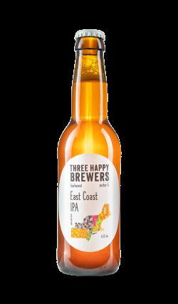 Three Happy Brewers - East Coast IPA