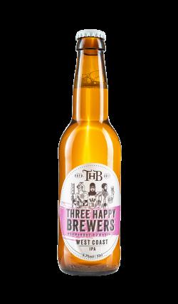 Three Happy Brewers - West Coast IPA