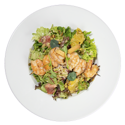 Salată Hambar cu creveți/Hambar salad with shrimps image