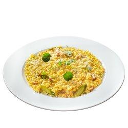 Risotto cu cârnați de mangaliță/Mangalica sausage risotto image