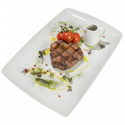 Mușchi de vită Charolaise la Josper/Charolaise fillet steak on Josper charcoal grill image