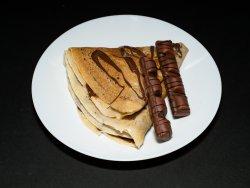 Clătită nutella și topping image