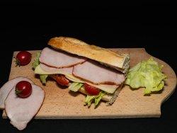 Sandwich Brasovean lunch image