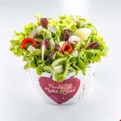 Salată Dakota cu ciuperci fierte image