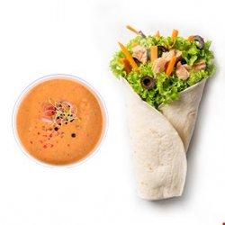 Chicken King wrap (250g) + supă cremă (350ml) image