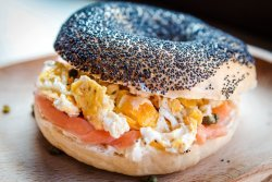 20% OFF: Smoked salmon and scrambled egg