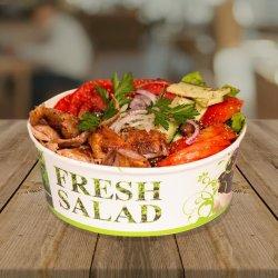 Gyros salată porc image