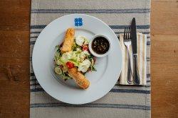 Salată cu telemea de oaie pane image