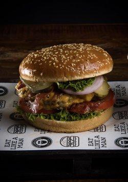 Home burger image