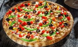 Pizza vegetariana  image