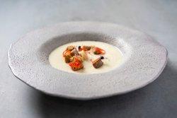 Supă cremă de cartof cu praz  image