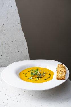 Supă cremă de morcovi cu ghimbir  image