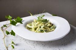 Caserecce cu brocoli și pesto  image