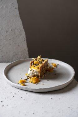 Cheesecake cu brânză de capră și dovleac  image