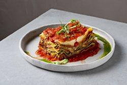 Lasagna cu ciuperci și spanac  image